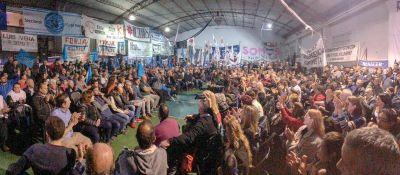 Multitudinaria Asamblea por la Unidad impulsada por el Partido Justicialista