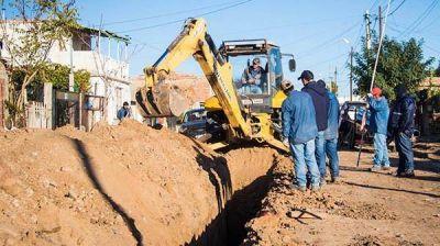 Trelew: un acueducto para 4 barrios