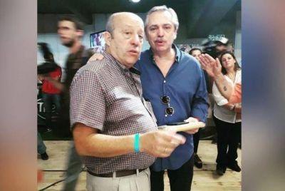 Paredi recibió la bendición de Alberto Fernández y Cristina Fernández