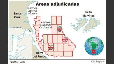 Frenan adjudicaciones petroleras en la cuenca Malvinas