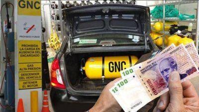 """""""Hoy con una carga de $300 pesos de GNC hacés lo mismo que 20 litros de Nafta"""""""