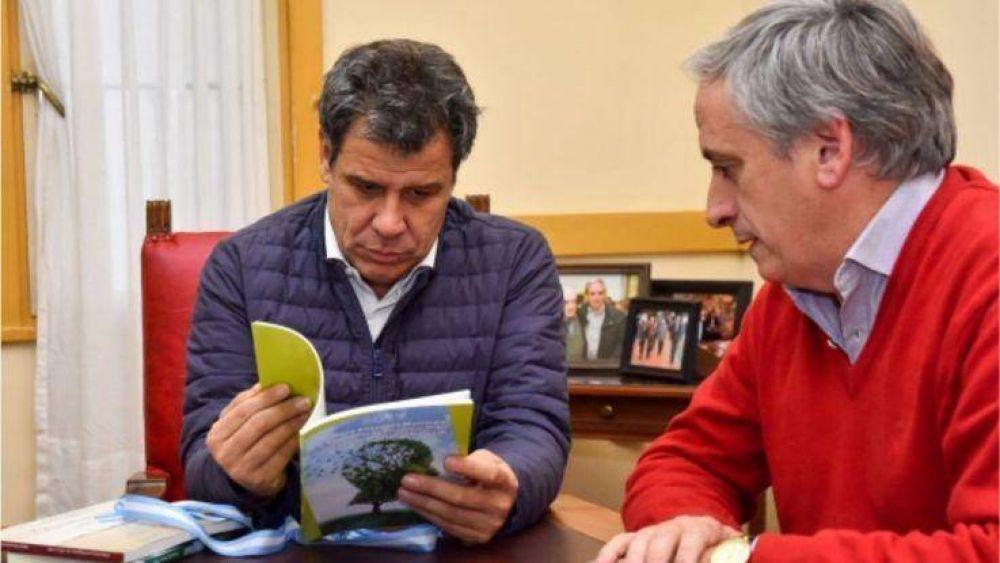 """Javier Gastón: """"fue un honor, placer y privilegio poder recibir a Facundo Manes en Chascomús"""""""