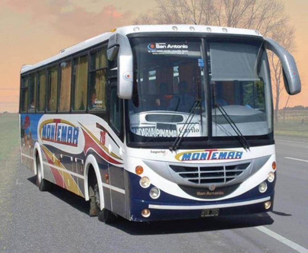 Montemar está paralizada y no hay transporte en la región