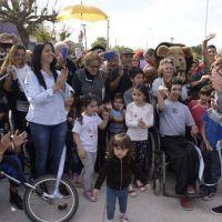Nardini inauguró la calle Congresales en Villa de Mayo