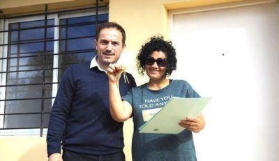 El Intendente entregó las primeras 23 casas del Plan 104 viviendas