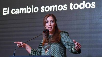 María Eugenia Vidal mantiene su idea de pelear en la provincia de Buenos Aires y cree que la fórmula kirchnerista no modifica el panorama electoral