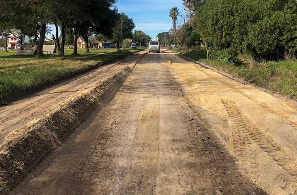 San Patricio: el municipio reparó la calle donde no podía ingresar el 221