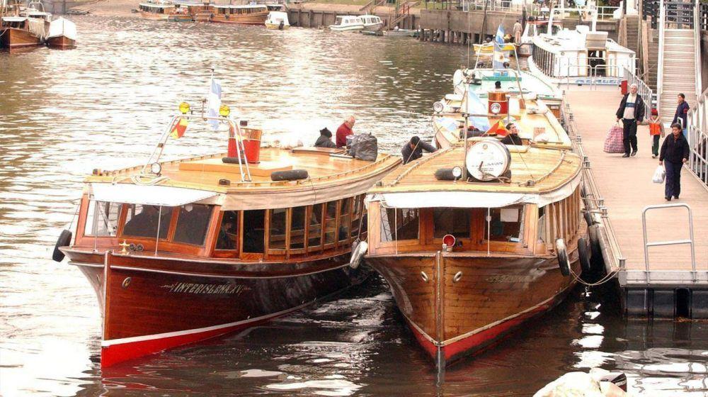 Paro de transporte fluvial en el delta