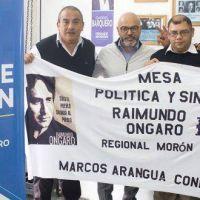 """Gabriel Barquero, precandidato a Intendente de Morón: """"Los gremios son fundamentales para este frente patriótico que estamos necesitando"""""""
