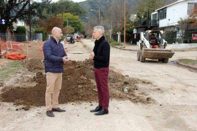 Carlos Paz: En 45 días serían inauguradas las cloacas en Los Eucaliptus