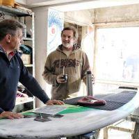 """Gustavo Pulti respaldó la actividad surfística: """"Es una industria, una cultura y un deporte"""""""