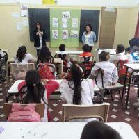 Continúan las charlas sobre alimentación saludable en las escuelas