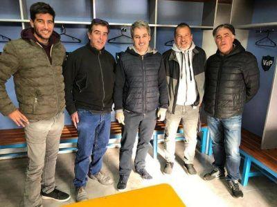 Gonzalo Diez y Rodrigo Irigoyen recorrieron las instalaciones del club Villa del Parque