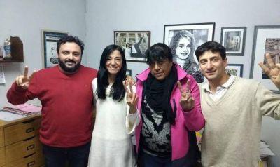 Avanza alianza en el peronismo local: Lescano del Movimiento Evita se reunió con Cáceres y Barrena de Unidad Ciudadana
