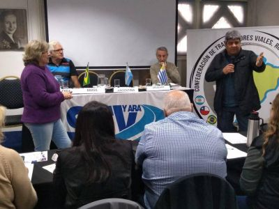 Se dió inicio al Congreso Sudamericano de Trabajadores Viales