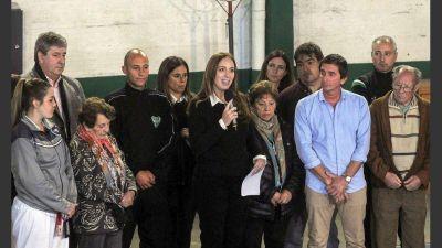 Vidal presentó la tarifa social de electricidad para clubes de barrio
