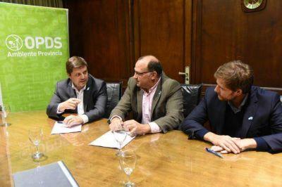 El OPDS firmó un acuerdo con SENASA para optimizar controles ambientales
