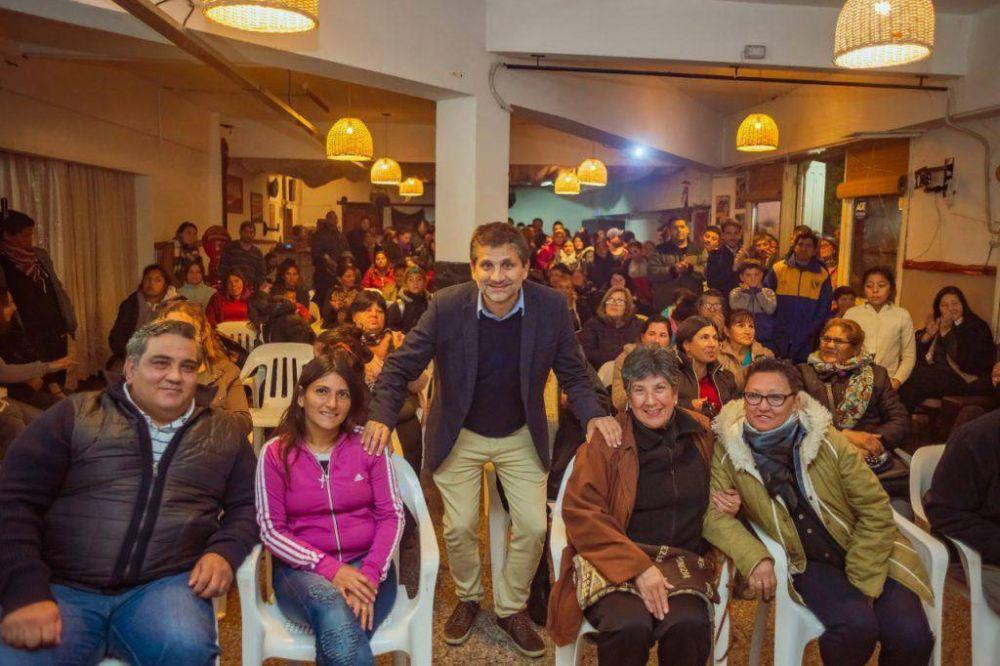 """Ariel Ciano, en Batán: """"Si nos unimos, en diciembre seremos gobierno"""""""
