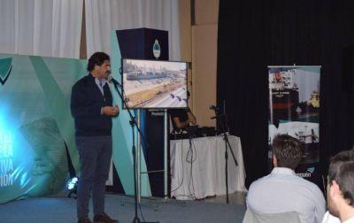 """Sarquís destacó que el dragado a 50 pies """"es la obra más importante"""" de los puertos en la Argentina"""