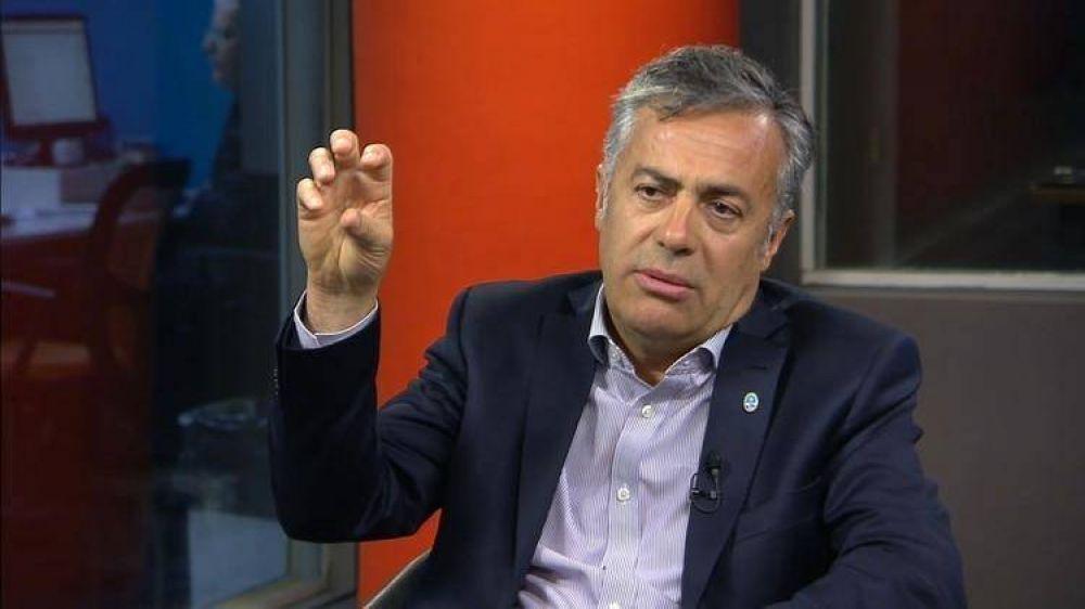 Alfredo Cornejo insistió en ampliar Cambiemos y elogió a Juan Schiaretti y Roberto Lavagna