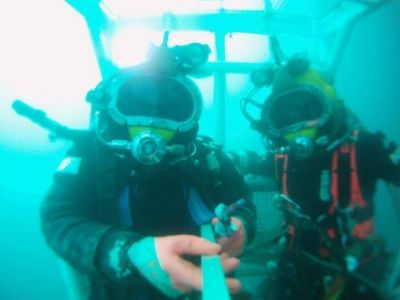 De limpiar el Riachuelo a pasar sus días en el fondo del mar: cómo es el trabajo de los buzos profesionales