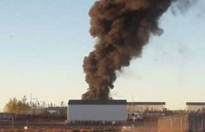 Polémica por el incendio de un basurero en el corazón de Vaca Muerta