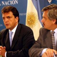 Massa: mensajes con Alberto Fernández y promesas de unidad
