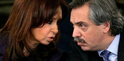 La fórmula de Cristina Kirchner y Alberto Fernández hace su debut en un acto en Merlo