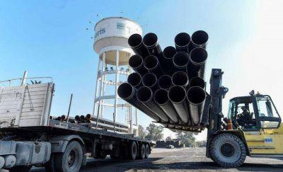 Por el clima, se retrasó la obra del Gasoducto pero aseguran que estará listo para agosto