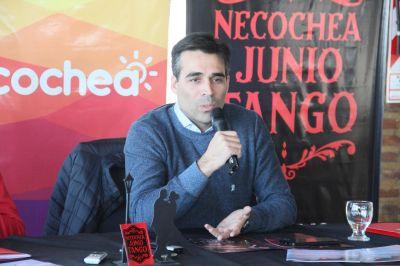 López, intendente de Necochea, presentó oficialmente la cuarta ruta del tango