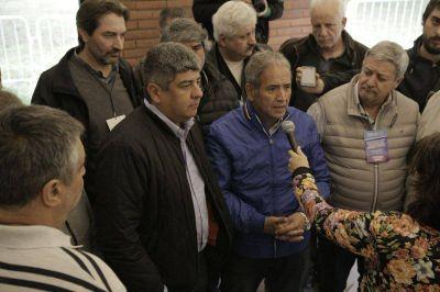 Moyano y Palazzo impulsan la mesa sindical del Frente Patriótico contra Macri