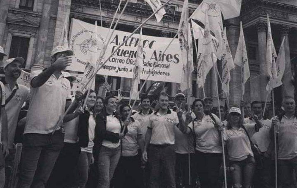 La  Intersindical del Correo Oficial manifestó su adhesión al paro del 29 de Mayo