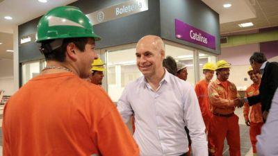 La Ciudad abrirá las tres nuevas estaciones de la Línea E en diez días