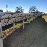 Inauguran los paneles solares en Obras Sanitarias