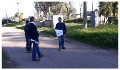 Avanza el proyecto de extensión de la red cloacal para la zona sur