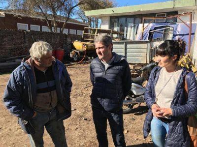 Diez se reunió con empleados municipales de la delegación y el corralón de Quequén