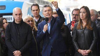 Mauricio Macri celebró la inauguración del Paseo del Bajo: