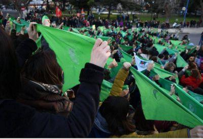 Aborto legal: anuncian acciones en Mar del Plata y en más de 100 ciudades del país