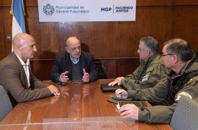 """Arroyo sobre la Gendarmería en la ciudad: """"Son gente muy preparada"""""""