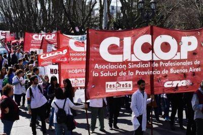 Lo médicos paran otras 72 horas los hospitales y le piden a Vidal que por lo menos cierre las paritarias 2018