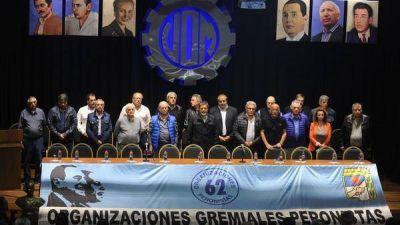 Las 62 organizaciones junto a la CGT en el paro del 29 de mayo