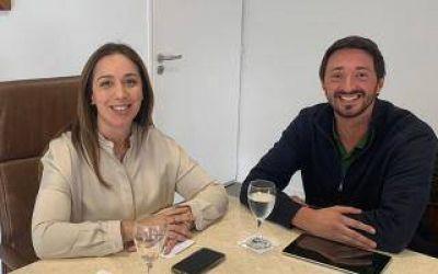 María Eugenia Vidal recibió al Intendente de Pinamar y hablaron del