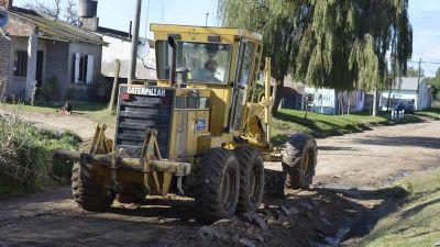 Servicios Públicos no detiene su andar y las calles mejoran día a día