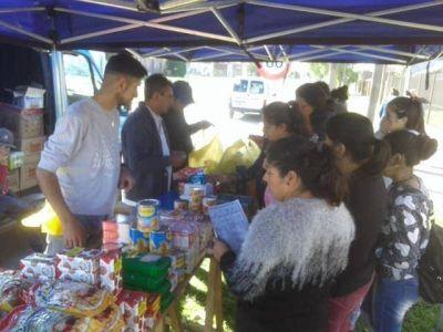 El Camión de Precios Justos recorre Necochea, Quequén y La Dulce