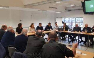 Obispos de la Provincia se reunieron con Vidal con foco en la situación social