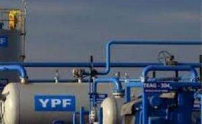 La producción de gas de YPF cayó 20,6%