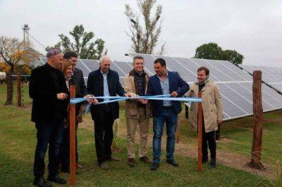 Argentina ya tiene primer tambo abastecido con energía solar