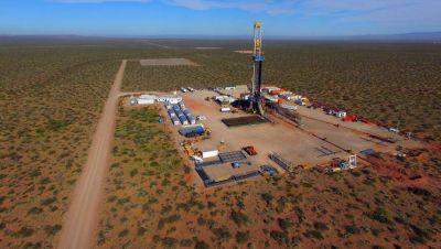 Shell levanta un nuevo equipo de perforación en Vaca Muerta