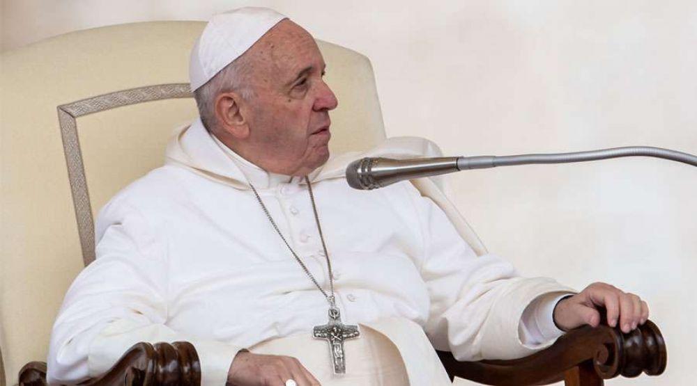 El Papa explica la diferencia entre la Biblia y los libros de Historia
