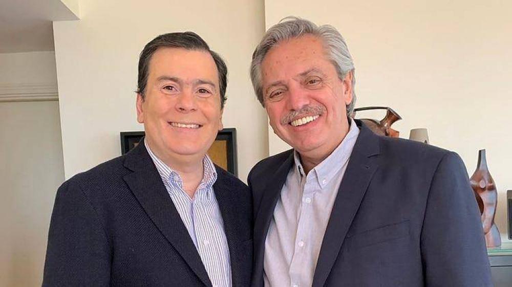 Alberto Fernández en campaña: se reunió a solas con Axel Kicillof y prepara su primera gira al exterior como candidato